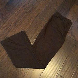 Brown Tall Dress Pants
